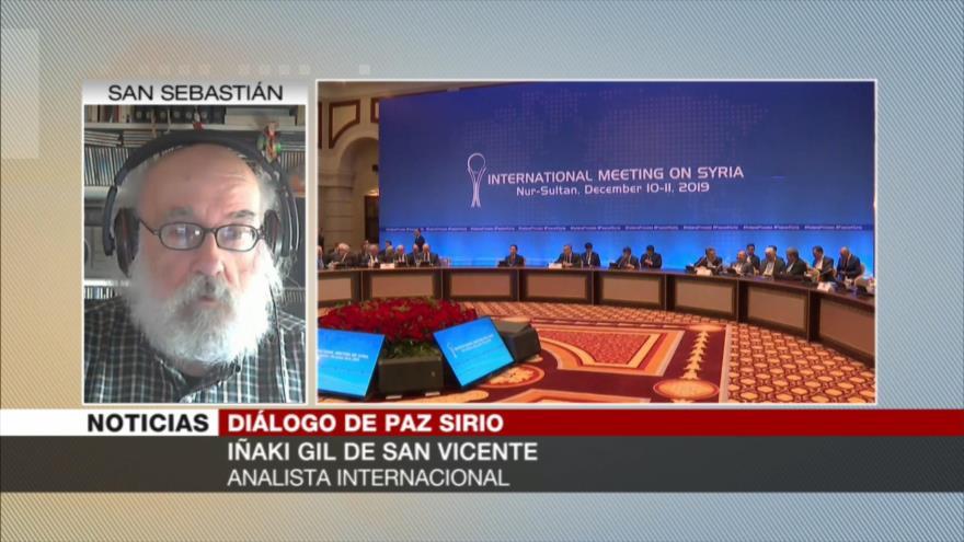 Gil: Con tanto robo, es tiempo de que Turquía se retire de Siria