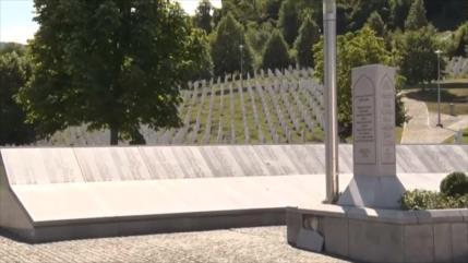 Marcha por la Paz para conmemorar el 26 aniversario del genocidio en Srebrenica