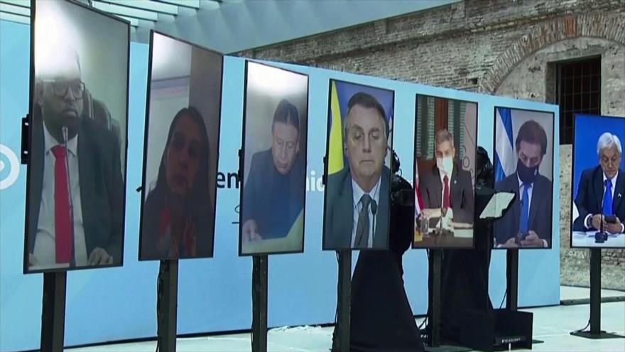 Líderes de Mercosur discrepan sobre el principio del consenso