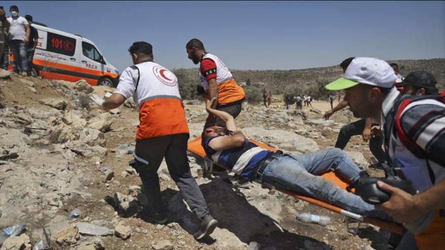 Fuerzas israelíes hieren a más de 400 manifestantes palestinos | HISPANTV