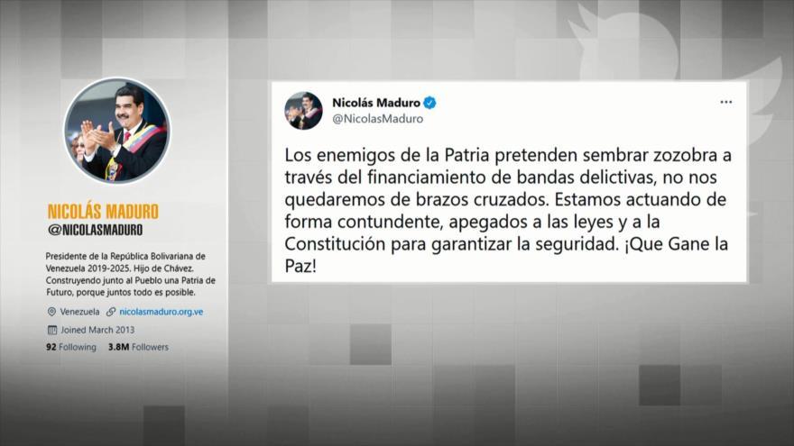 ¡Que Gane la Paz!: Venezuela se moviliza contra bandas criminales | HISPANTV