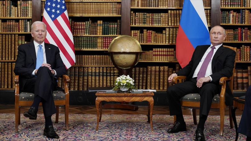 EEUU y Rusia, en guerra digital: Biden reta a Putin con represalias   HISPANTV