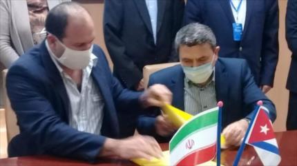 Irán y Cuba afianzan relaciones al fabricar vacuna Soberana 02