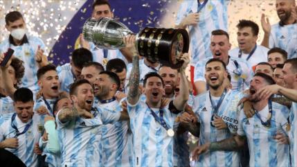 Argentina gana a Brasil y se corona campeón de Copa América