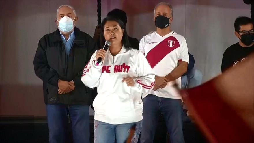 Fujimori insinúa que desconocerá victoria de Castillo en Perú   HISPANTV