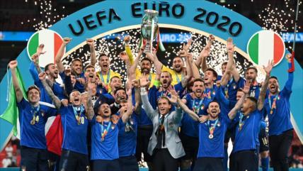 Italia derrota a Inglaterra y se proclama campeona de la Eurocopa