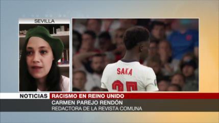 Rendón: Gobierno británico es responsable del racismo en el país