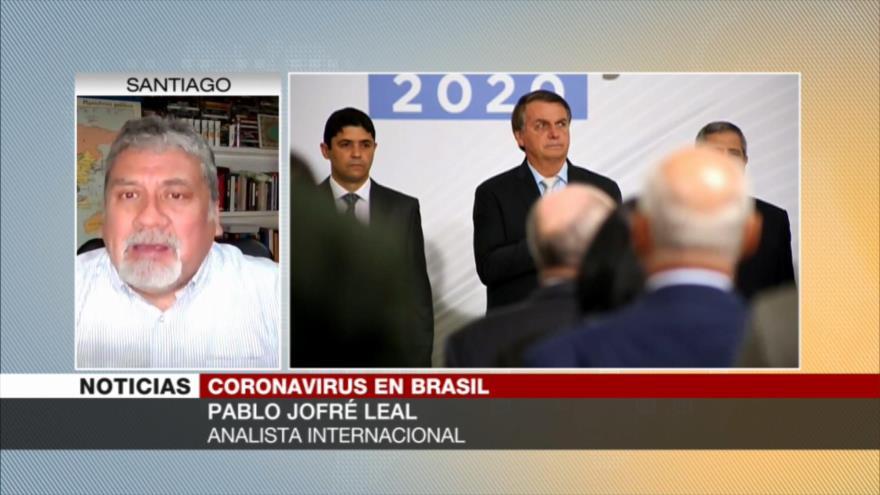 Jofré Leal: Gobierno de Bolsonaro debe ser investigado y sancionado