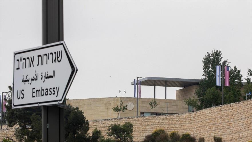 Francia y Alemania boicotean un evento en embajada de EEUU en Al-Quds