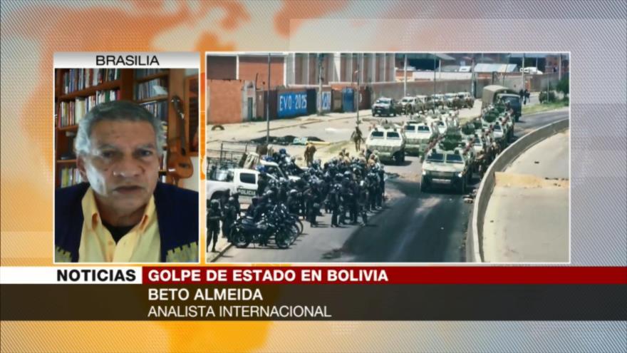 """""""Macri debe rendir cuenta por su implicación en golpe en Bolivia"""""""