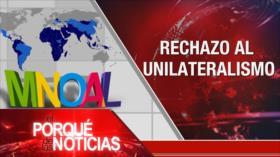 El Porqué de las Noticias: Movimiento de los no alineados. Tensión China-EEUU. Violencia en Colombia
