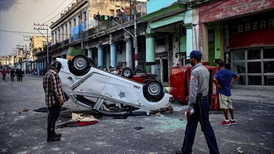 """Cuba: EEUU usa """"operación comunicacional"""" para incitar a protestas"""