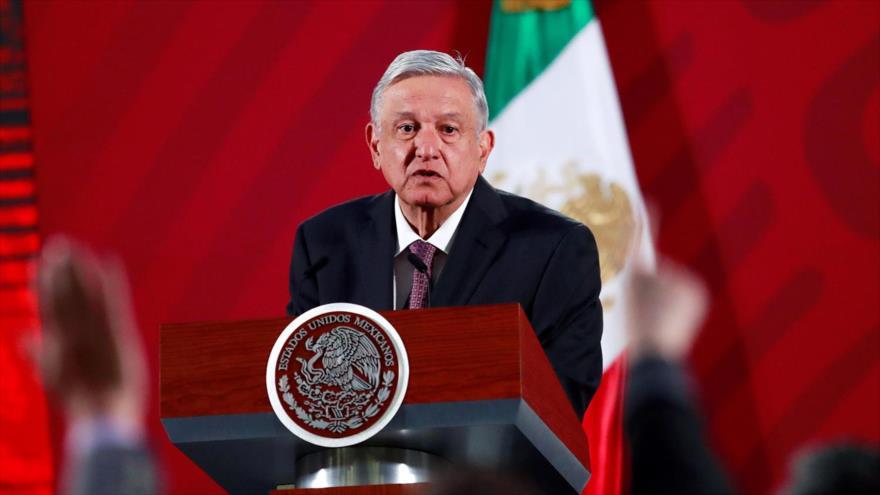 El presidente mexicano, Andrés Manuel López obrador (AMLO).