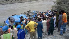Explosión en Paquistán deja 13 muertos, entre ellos 9 chinos
