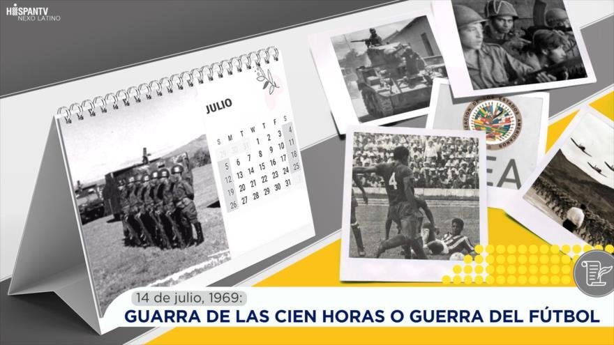 Esta semana en la historia: Guarra de las Cien Horas o Guerra del Fútbol