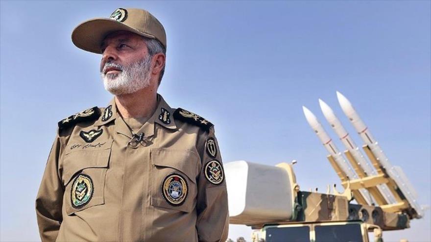 El comandante en jefe del Ejército de Irán, el general de división Seyed Abdolrahim Musavi.