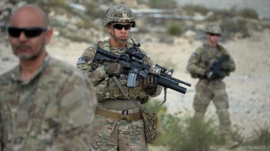 Soldados estadounidenses participan en una operación en la provincia oriental de Nangarhar, 30 de agosto de 2015.