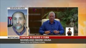 Sbarbi Osuna: Bloqueo de EEUU no tiene efectos, Cuba sigue en pie
