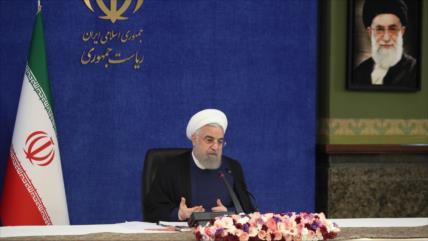 Rohani: Irán sigue impulsando su producción pese a guerra económica