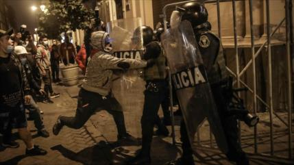 Presidente de Perú alerta a derechistas: No toleramos la violencia