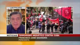 "Saavedra: Prensa anticubana ""magnifica cualquier mancha de sangre"""