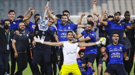 Esteqlal de Teherán gana el derbi de la Copa Eliminatoria de Irán