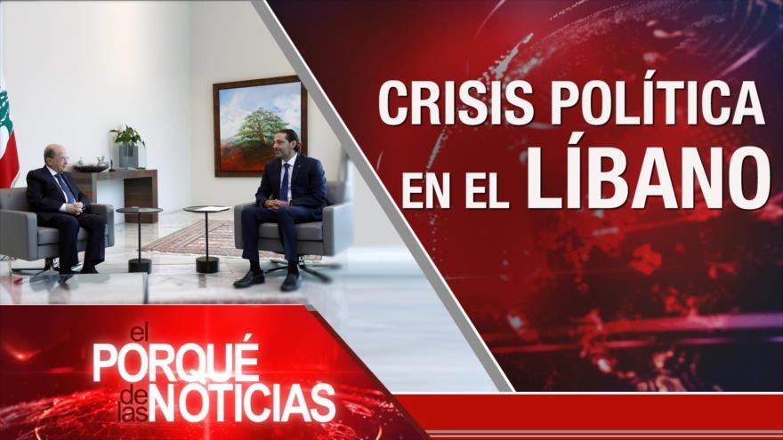 El Porqué de las Noticias: Crisis en El Líbano. Magnicidio de Moise. Incertidumbre en Perú