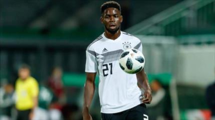 Futbolista alemán sufre acoso racista en el juego contra Honduras