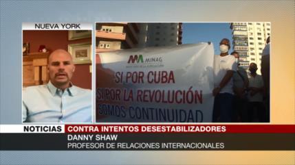 Danny Shaw explica por qué EEUU no frena sus presiones contra Cuba