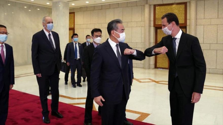 China recalca su apoyo a Siria ante terrorismo y asedio económico   HISPANTV