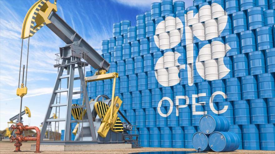 Barriles de petróleo producidos por la OPEP.