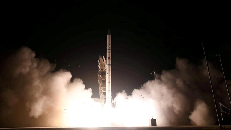 Lanzamiento de satélite israelí Ofek 16. (Foto: Reuters)