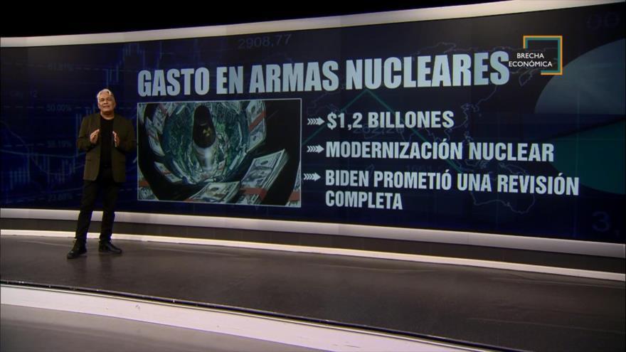 Brecha Económica: Gasto nuclear de EEUU