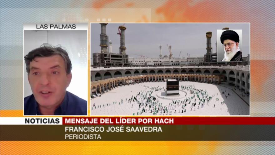 Saavedra: Occidente busaca robar recusros de países musulmanes