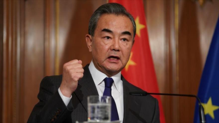 El ministro de Asuntos Exteriores de China, Wang Yi.