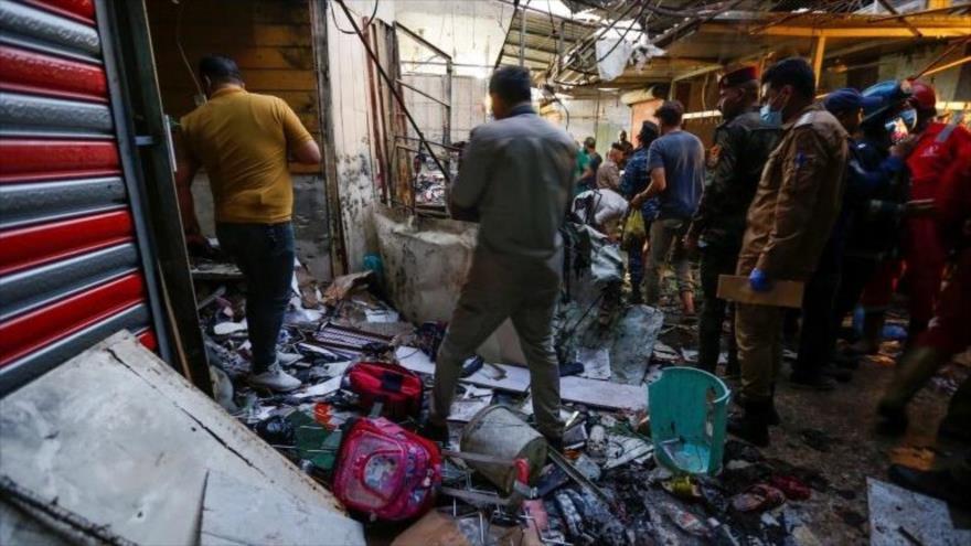 Atentado reivindicado por Daesh deja más de 30 muertos en Irak