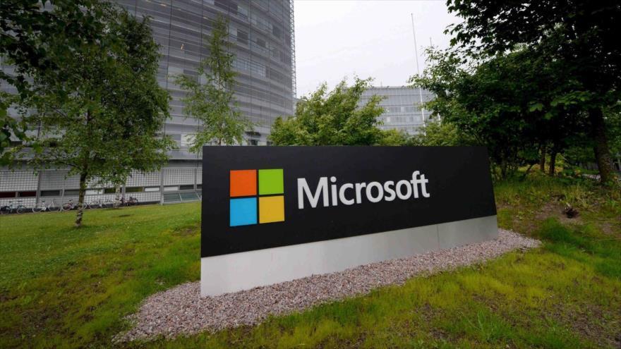 El letrero de Microsoft se muestra en su sede finlandesa en Espoo. (Foto: Reuters)