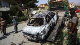 Vídeo: Cohetes impactan cerca de palacio presidencial en Afganistán