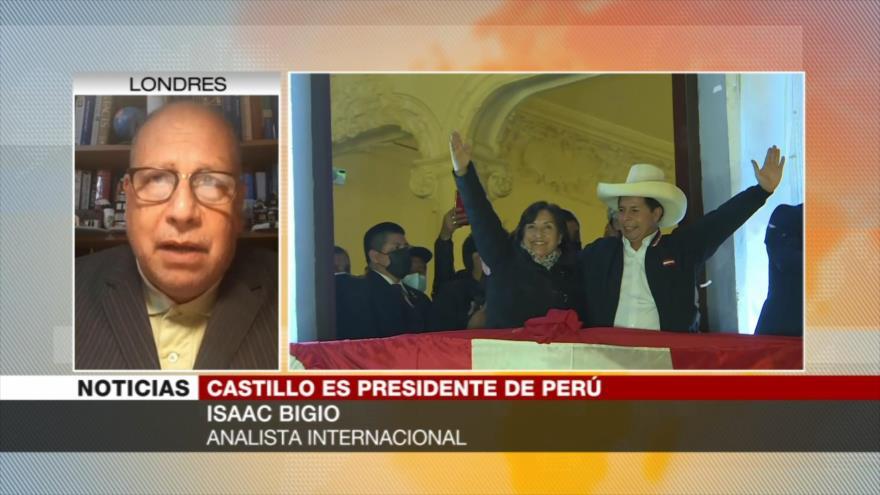 Bigio: La única fuerza que Castillo tiene es el apoyo de la gente