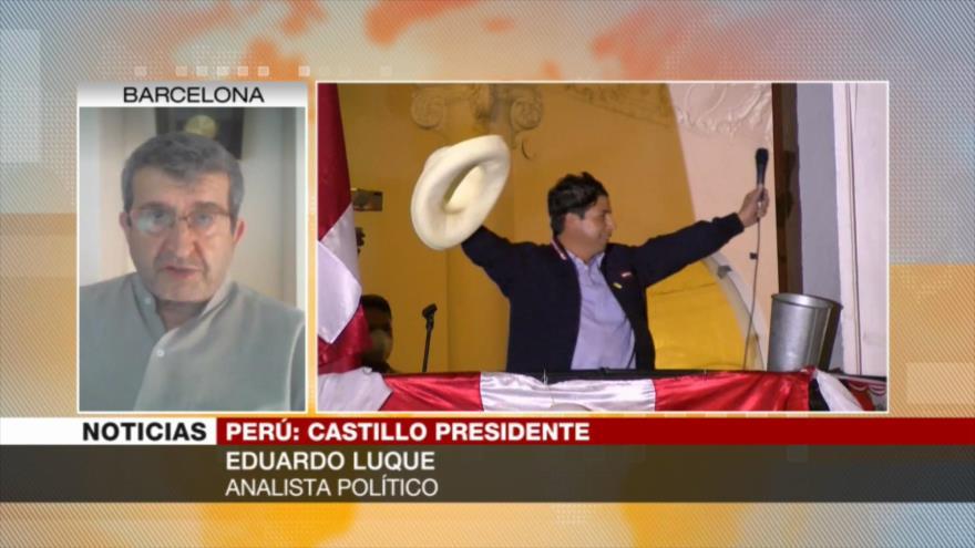 Luque: Es muy probable un golpe de Estado contra Castillo en Perú