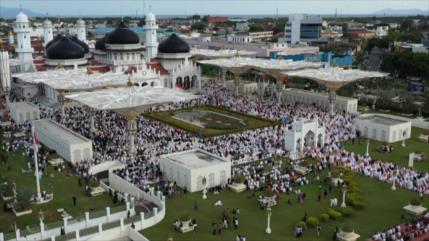 Musulmanes del mundo celebran el Eid al-Adha