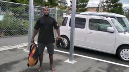 Hallan a atleta olímpico ugandés que escapó para quedarse en Japón