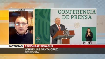 Santa Cruz: Mexicanos no pueden escapar del espionaje
