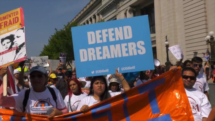 En la cuerda floja el futuro de miles de soñadores DACA