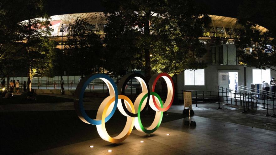 Museo Olímpico de Japón en Tokio, 20 de julio de 2021. (Foto: AFP)
