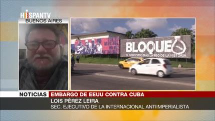 Pérez: Sociedad cubana pide el inmediato fin del bloqueo de EEUU
