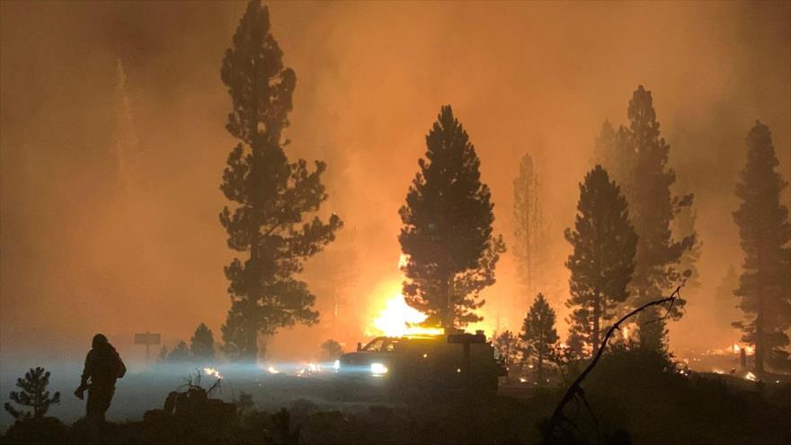 Vídeo: Incendios forestales afectan 500 000 hectáreas en EEUU