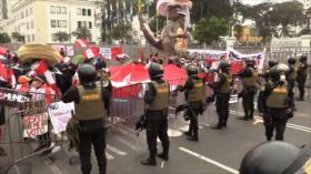 Investigan agresiones a ministros en marcha fujimorista en Perú