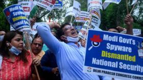 Interrumpen en el Parlamento indio por software espía Pegasus