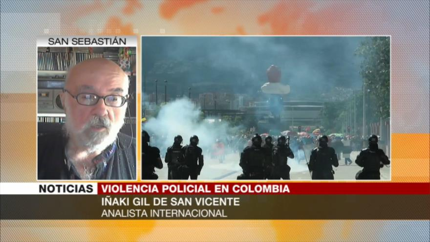 Iñaki Gil: Colombia sanguinaria de Duque, imprescindible para EEUU